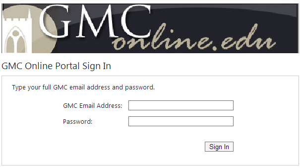 What is My GMC Email Address? Your GMC Email Address is your: First initial / full last name / MMDD of birth + @student.gmc.cc.ga.
