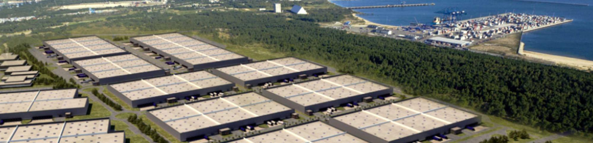 POMERANIAN LOGISTICS CENTER The rapidly expanding infrastructure of the Tri-City area (Gdańsk, Gdynia, Sopot) provides the Pomeranian Logistics Centre with excellent access to national and