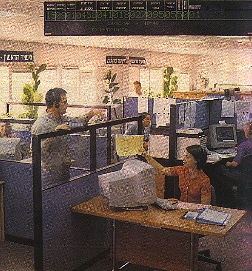 The working environment of a call center 3