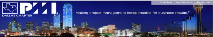 PMI Dallas Chapter Mission To support the growth and development of project management practitioners; as well as