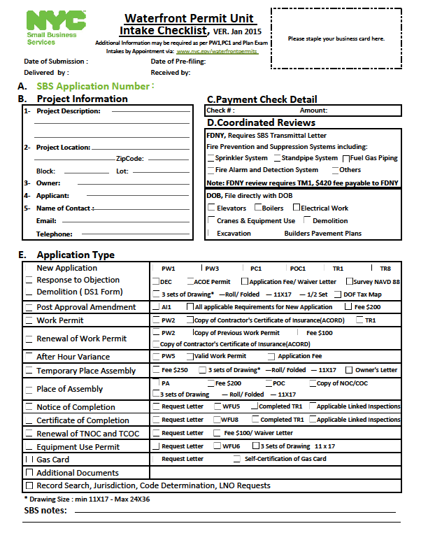 2- Fill out the Intake Checklist available online APPOINTMENTS SCHEDULING VIA ONLINE LINK