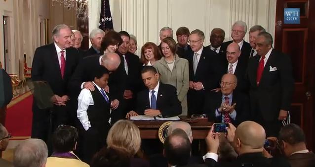 The Health Care Law In March 2010, President Obama signed the