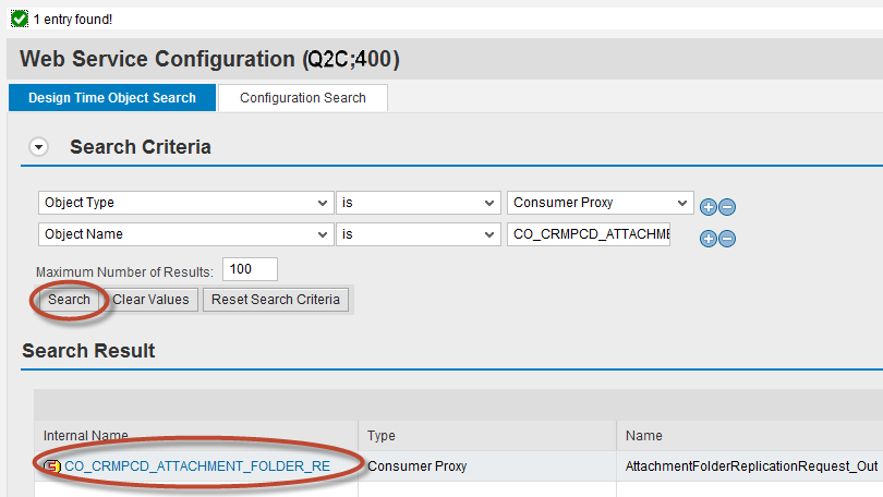 How to Configure Integration between SAP CRM and SAP Cloud for Customer using SAP Process Integration 89 9.2.6 SOAMANAGER Configuration for Attachment Replication 9.2.6.1 Configuration to send attachments from SAP CRM to SAP Cloud for Customer 1.