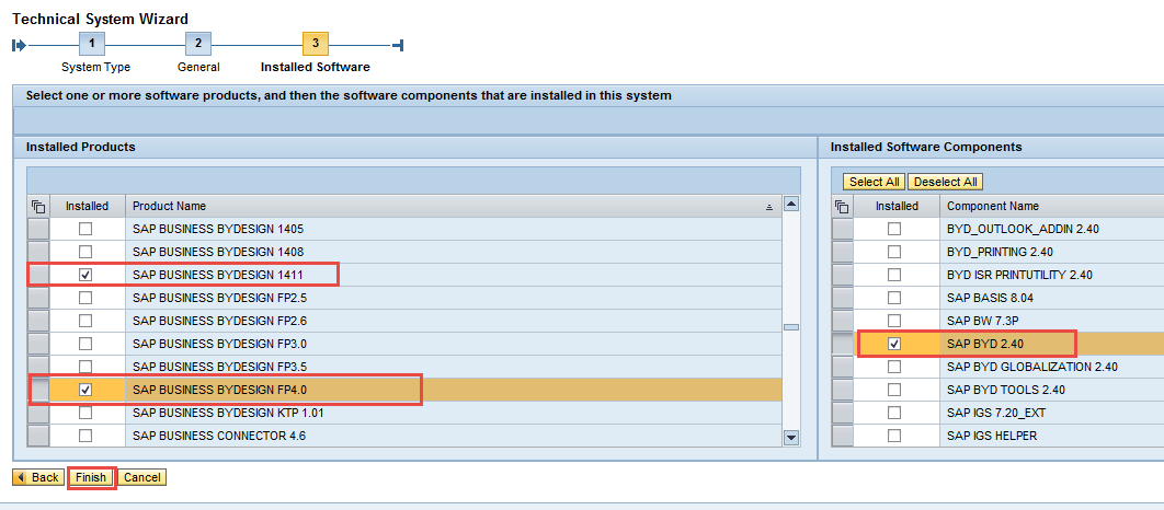 How to Configure Integration between SAP CRM and SAP Cloud for Customer using SAP PI 21 3. Select the option Third-Party and click Next. 4. Enter the System Name and Host Name and click Next. 5.