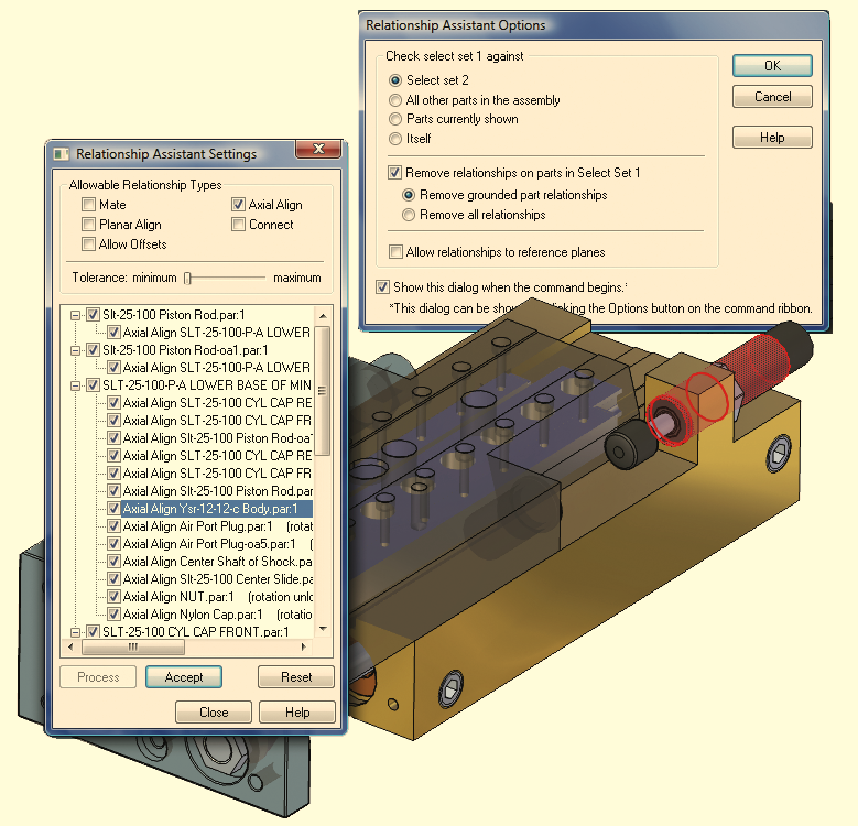 10 Once 3D data is imported into Solid Edge, powerful tools add additional intelligence and allow quick and easy editing. Auto Constrain adds parametric relationships to imported assembly files.