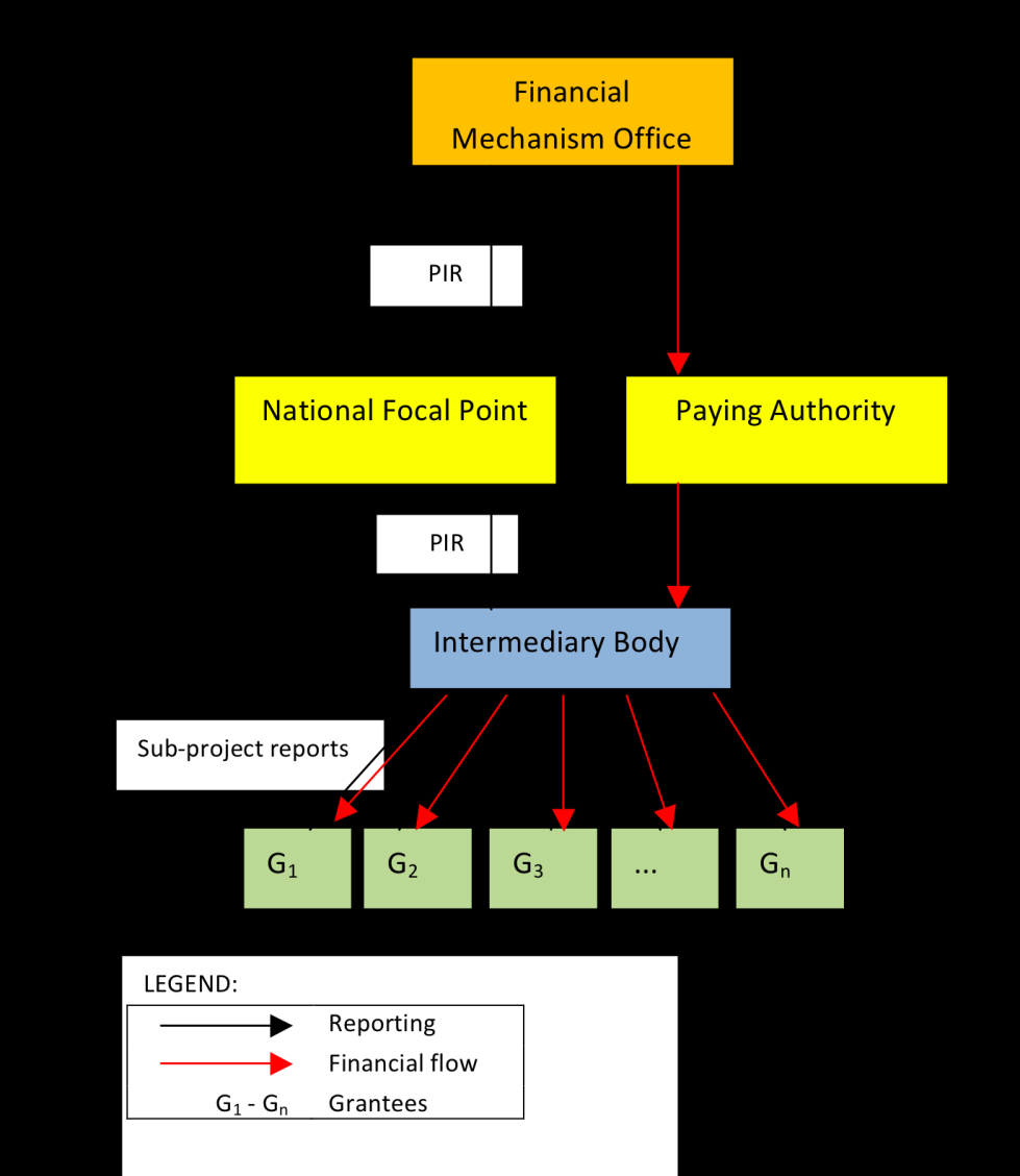 Figure 15 Direct payment from Intermediary - source Paying Authority Processing of PIR The time needed to process the PIR in country differed significantly and depended on national procedures.