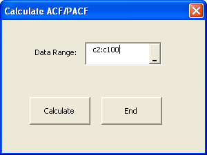 Now we need to calculate the ACF and PACF.