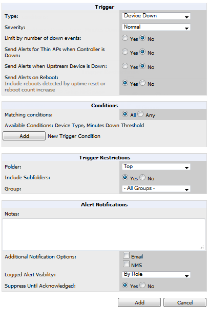 "Refer to ""Creating New Triggers"" on page 219 to configure triggers. Creating New Triggers Perform the following steps to create and configure one or more new triggers."