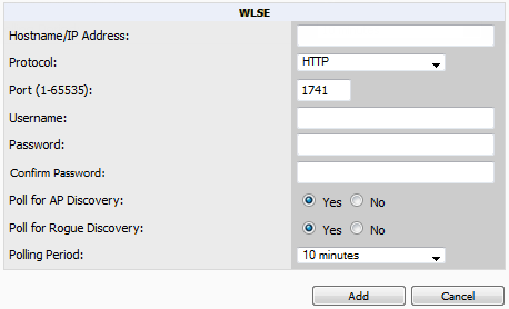 8. Select the ACS server in the Priority 1 drop-down menu and select Apply. Configuring ACS for WDS Authentication ACS authenticates all components of the WDS and must be configured first.