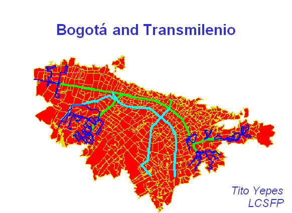Plannning, Operation and Control: TRANSMILENIO S.