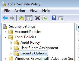 Installation Manual OPC-Server Security policies Important! These settings are only required starting with Windows XP.