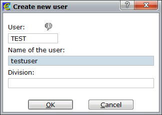 6) User administration.