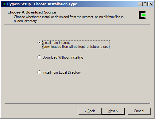 Step 1: Install Cygwin Download and