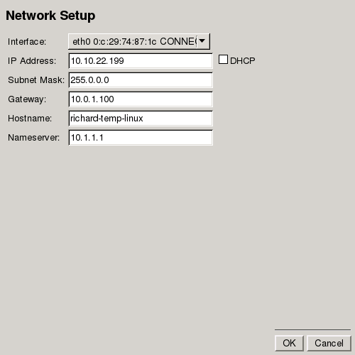 Performing a Recovery If it is required to configure the network settings, click the Network Settings button.