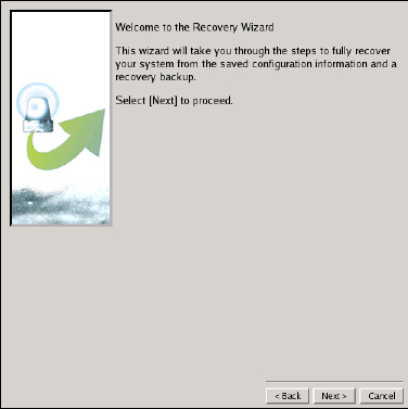 You will be presented with the license screen. Click I Accept if you agree with the CBMR licensing terms. Auto Recovery Wizard Manual Recovery Wizard Tools View Log Files Figure 18.