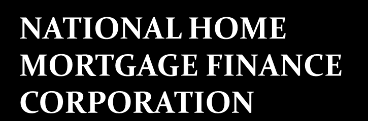 NATIONAL HOME MORTGAGE FINANCE CORPORATION Charter and Mandate PD No.