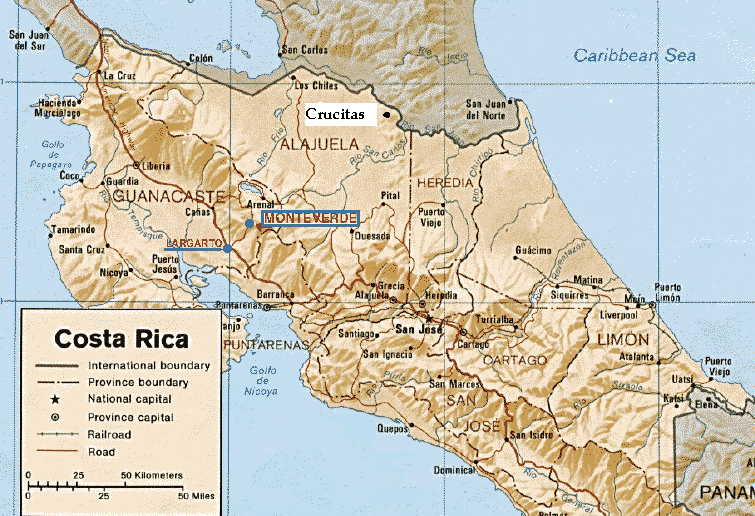 3 Figure 2: map of Costa Rica showing the