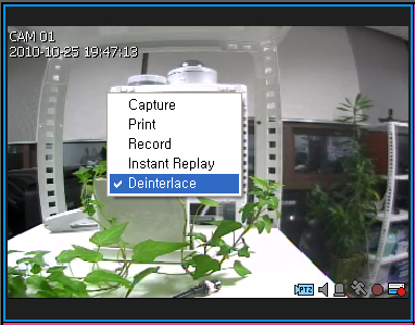 live viewer Scroll View If the number of cameras that are currently connected is greater than the number of the selected tile pattern, use the scroll bar to move to the next or previous video.