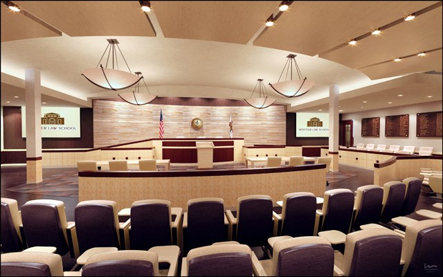 VOLUME X, NO. 1 PAGE 2 What it might look like. Courtroom designed for trial or appellate proceedings, with 134 seats in gallery.