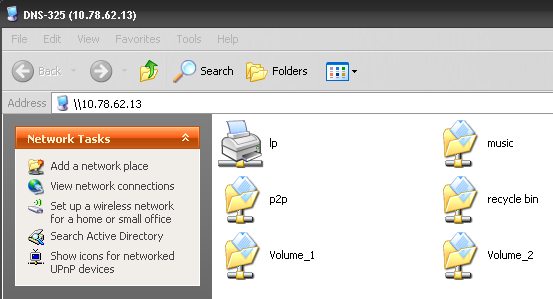 Section 5 - Knowledge Base Connect to your device with Samba and then double-click the lp icon.