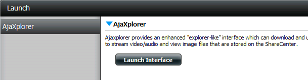 Section 5 - Knowledge Base AjaXplorer This section allows you to configure the AjaXplorer function.