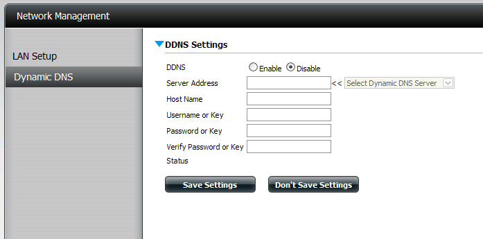 Dynamic DNS The DDNS feature allows the user to host a server (Web, FTP, Game Server, etc ) using a domain name that you have purchased. (www.whateveryournameis.