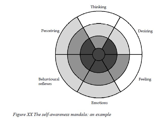 Appendix C Jordans (2001) Self-awarenes mandala Thomas Jordan Self-awareness, meta-awareness and the witness self (Jordan, 2001). A graphical summary: the self-awareness mandala (Jordan, 2001, p.13).