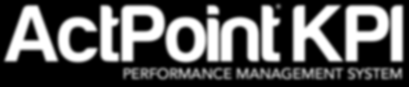 NEW! June 2013 KEY PERFORMANCE INDICATORS BENCHMARKING ActPoint KPI Performance Management System