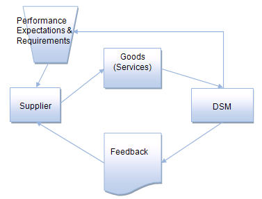 feedback should be a two-way flow of communications between DSM and the supplier, as visualized in Figure 7.