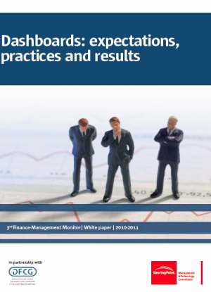 Research shows that current dashboards do not live up to the manager s expectations BearingPoint surveyed the Finance Management and General Management populations receiving dashboards.