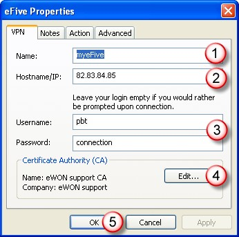 Add and Configure an efive VPN Server Chapter 6. 6. Add and Configure an efive VPN Server 6.1 Step 1 - Add an efive VPN Server Start egrabit.