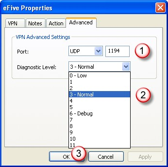 Add and Configure an efive VPN Server Chapter 6.