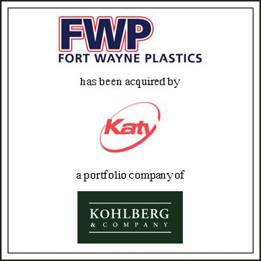 PLASTICS & PACKAGING TRANSACTION UPDATE PMCF ANNOUNCES PLACON S ACQUISITION OF PLASTIC PACKAGING CORPORATION P&M Corporate Finance (PMCF) is pleased to announce that it served as the exclusive