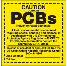 TSCA - Polychlorinated Biphenyls Authorized Uses of PCBs are described in 40 Code of Federal Regu
