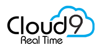About Cloud9 Real Time Building Custom Cloud Solutions since 2000, Cloud9 has inspired a True Cloud experience for businesses, practices and agencies to have a cloud-hosted integrated platform of