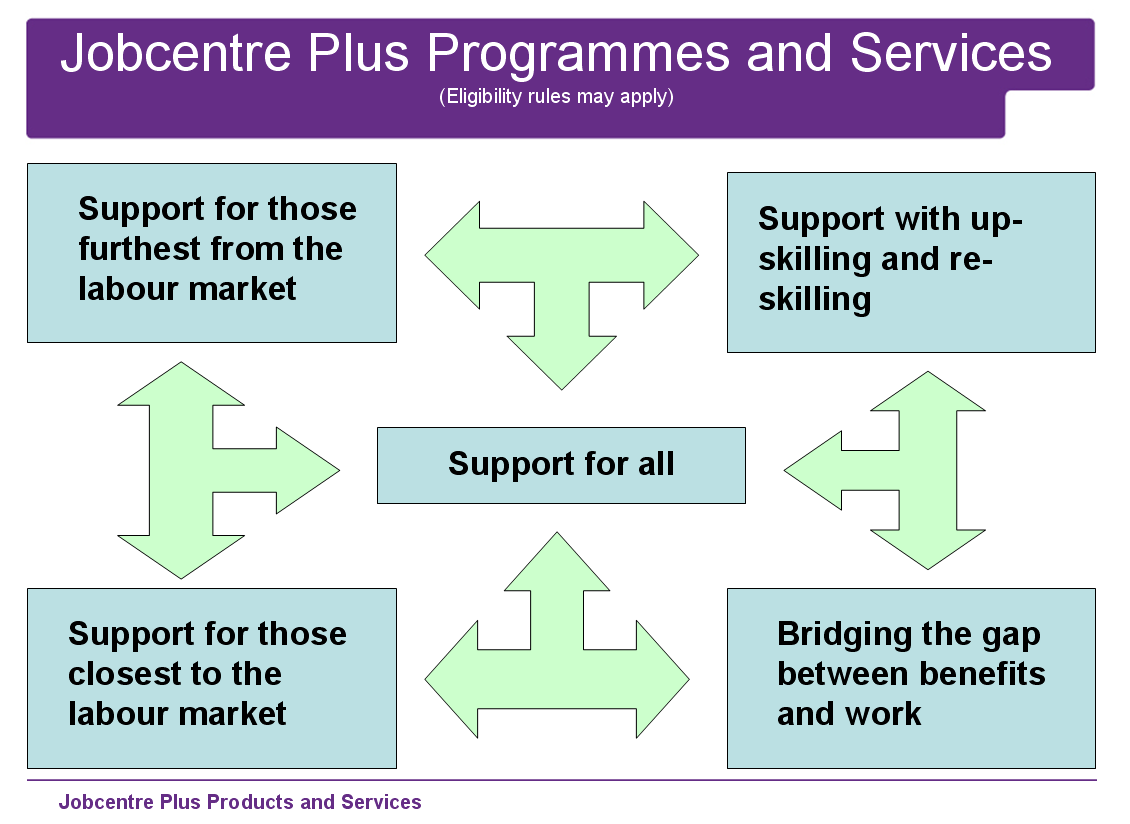 APPENDIX 2 Summary of Current Jobcentre Plus Support for Problem Drug Users Jobcentre Plus commissions or provides over 40 different services to support the education, employment, skills and training