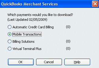 Download Payments: When a payment is made online it will appear in your Merchant Service Reminders list when the payment is
