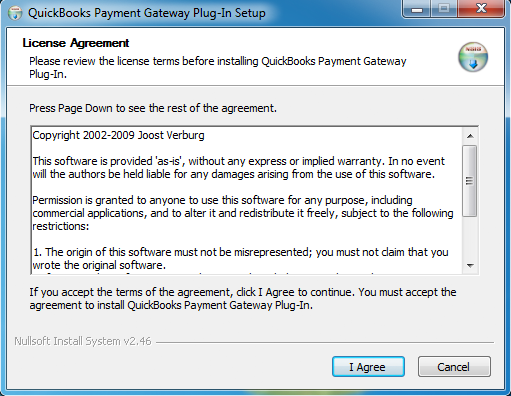QuickBks Gateway Plug-In Dcumentatin Installatin The QuickBks Gateway Plug-In is extremely easy t use and makes it very simple fr any merchant using QuickBks t easily prcess electrnic transactins