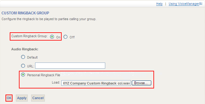 3. Select the Number you wish to contact. Configuring Group Features 4. Click Dial.