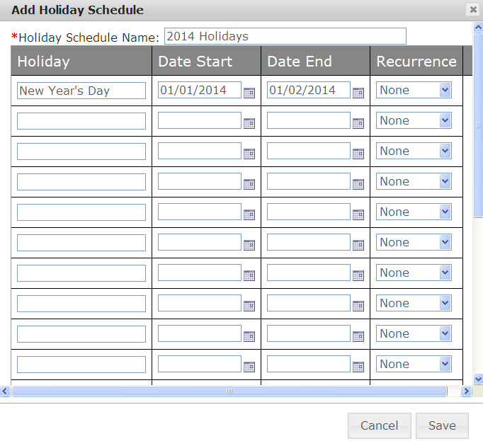 Part 2: Setting Your Holiday Schedule 1. Select the Group for which the Holiday Schedule/Auto Attendant applies. 2. From the Group Profile menu, select Holiday Schedule.