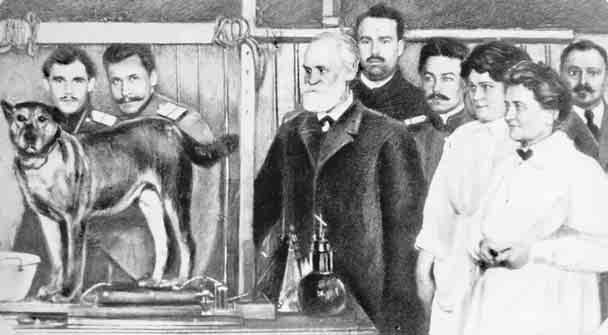 The Emergence of Contemporary Views of Abnormal Behavior 21 Ivan Pavlov (1849 1936), a pioneer in demonstrating the part conditioning plays in behavior, is shown here with his staff and some of the