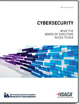 Cybersecurity Framework > Security Mobile Devices > Advanced Persistent Threat Awareness Study Results > Overview of Digital Forensics > Cybersecurity: What the Board of Directors Needs to Ask >