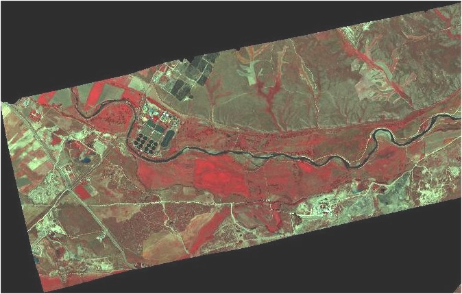 Remote Sensing Lab capabilities: multispectral projects