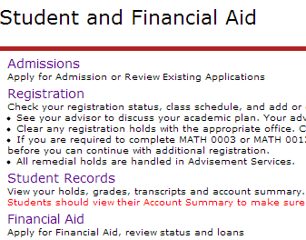 LOCATING YOUR ACADEMIC ADVISOR In order for you to view your academic advisor, you will need to access the Student Records menu.