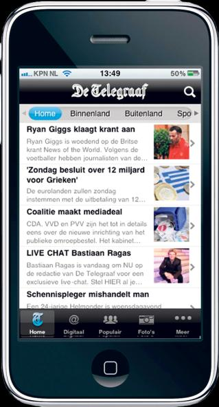 Online advertising Display Raad van bestuur Video advertising Mobile advertising Most common form of online advertising. Ads with high attention value. Can be placed on all websites.