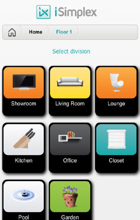 SEAMLESS USER HOME SERVER INTERFACE DATASHEET User Interface This is the main interface of your house, here you can take advantage of features, locally or remotely.