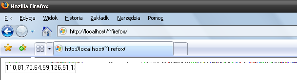 2.3 Firefox The situation in Firefox web browser is the most interesting and beneficial for the attacker.