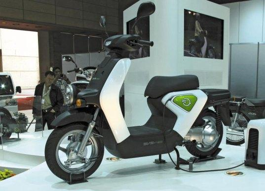 Electric scooters in China Sales of electric 2-wheelers in