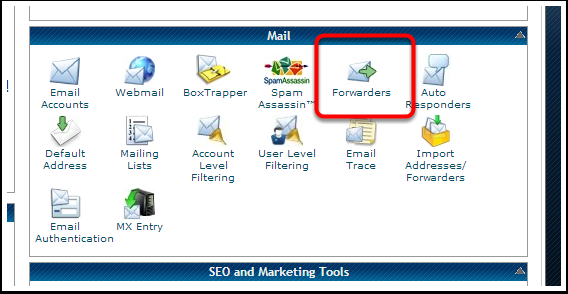 How to Set Up a Forwarder If you prefer, you can also forward your domain email to your current email account.