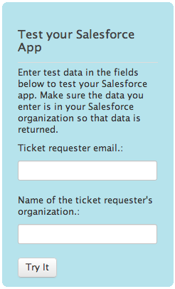 6 7. Select a Salesforce field to map to a Zendesk field to enable record lookup.